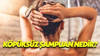 Köpüksüz Şampuan Nedir?