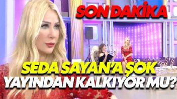 Seda Sayan'ın Programı Yayından Kaldırılıyor...