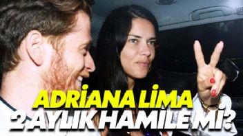 Adriana Lima 2 Aylık Hamile Mi?