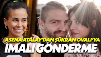 Asena Atalay'dan Şükran Ovalı'ya İmalı Gönderme