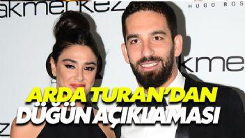 Arda Turan'dan Düğün Açıklaması