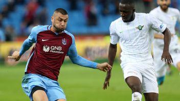 Trabzonspor Akhisar'da lige tutundu