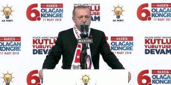 Erdoğan'dan kritik Afrin açıklaması