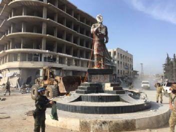 TSK ve ÖSO güçleri Afrin merkezde kontrolü sağladı