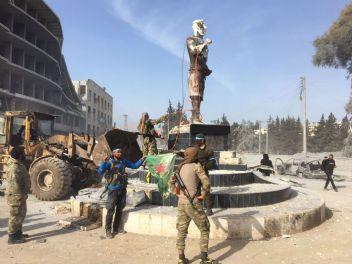 Afrin'deki Kawa heykeli nedir? Demirci Kawa kimdir anlamı nedir?