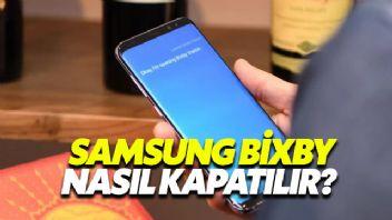 Samsung Bixby Nasıl Kapatılır?