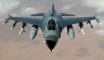 F-16 askeri uçak düştü; pilot şehit oldu