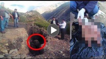 Köylüler Yarı İnsan Yarı Hayvan Bir Şey Buldu, Görenler Şok Oluyor !