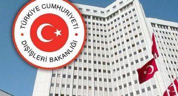 Son dakika; Türkiye, 'Memnuniyetle Karşılıyoruz'