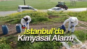 İstanbul'da Kimyasal Alarm