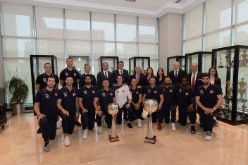 Halkbank Spor üst üste 3. kere şampiyon