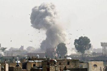 Suudlular, Yemen'de düğünü bombaladı; sonuç facia!.
