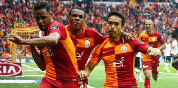 Galatasaray Beşiktaş'ı yarışın dışına itti