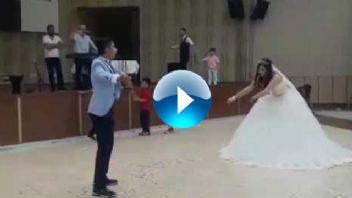 Düğününde Kardeşi İle Şov Yapan Gelin... İzlenme Rekorları Kırıyor...