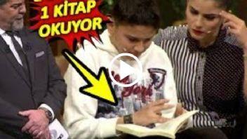 1 Dakikada 1 Kitap Okuyan Dahi Çocuk! Herkesi ŞOK Etti