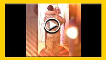 Annesinin Tek Oğlu Askerin Annesine Sürprizi