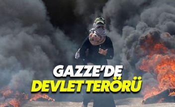 Gazze'de İsrail terörü 43 sivil hayatını kaybetti