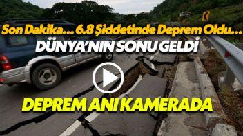 Son Dakika… 6.8 Şiddetinde Deprem Oldu…