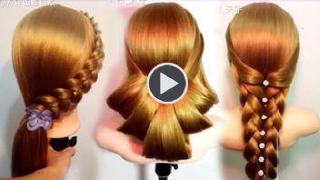 10 İnanılmaz Saç Modeli Yapmasıda Çok Kolay...