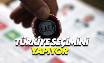 Türkiye'de 56 milyon seçmen sandık başına gidiyor