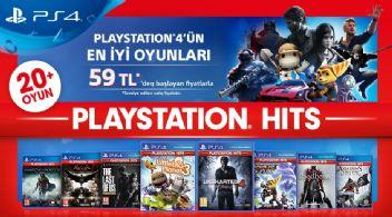 PlayStation Hits ile PlayStation 4 oyunlarında süper indirimler