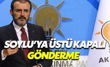 AK Parti'den Süleyman Soylu'nun açıklamalarına yanıt