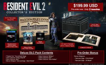 Resident Evil 2 koleksiyoncu sürümü tanıtıldı