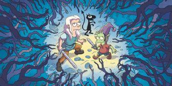 The Simpsons'ın yaratıcısından yeni serüven! Disenchantment'ın fragmanı yayınlandı!