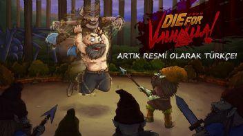 Die for Valhalla! resmi olarak Türkçe oldu