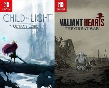 Child of Light ve Valiant Hearts: The Great War Switch'e geliyor