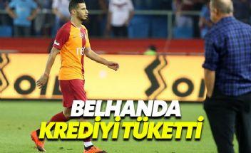 Nice'e transferi gerçekleşmeyen Belhanda, Galatasaray'ı yaktı