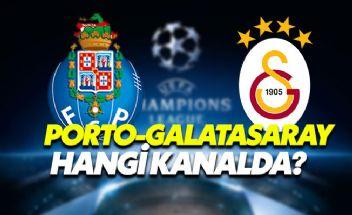 Porto-Galatasaray Şampiyonlar Ligi maçı (şifresiz) hangi kanalda? Saat Kaçta? Porto-Galatasaray maçı şifresiz veren kanallar hangileri?