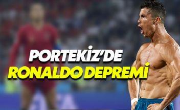 Ronaldo Portekiz Milli Takımına davet edilmedi