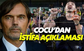 Phillip Cocu'dan istifa iddialarına yanıt