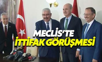 AK Parti MHP ittifak görüşmesinin ardından ilk açıklama