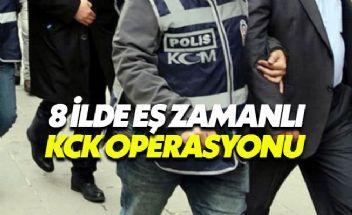 Türkiye genelinde KCK operasyonu