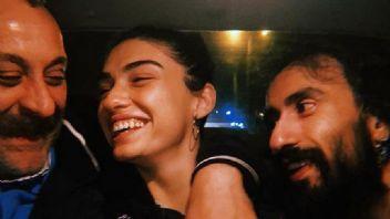 Genç oyuncu Hazar'dan aşk pozları