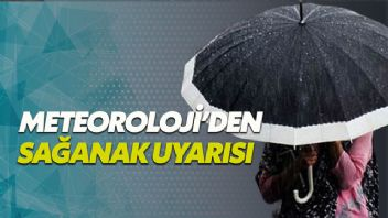 Türkiye genelinde gök gürültülü sağanak yağış bekleniyor