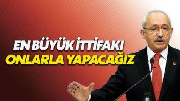 Kılıçdaroğlu'ndan yerel seçimde ittifak açıklaması