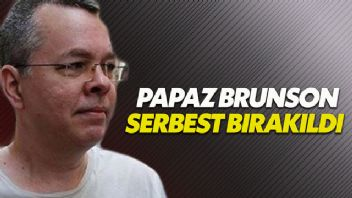 Ajanlık ve terör örgütü üyeliğiyle suçlanan Brunson serbest bırakıldı