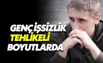 Türkiye'de genç işsizlik oranı yüzde 20