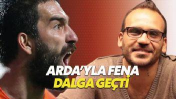 Gürgen Öz çektiği videoyla Arda Turan ile dalga geçti