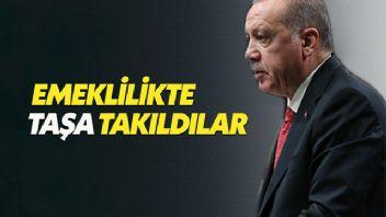 Erdoğan'dan emeklilikte yaşa takılanlara kötü haber