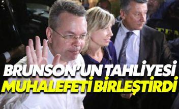 Muhalefetten Erdoğan'a çok sert Brunson tepkisi