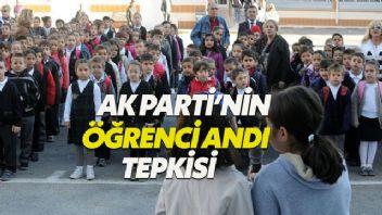 Öğrenci Andı geri döndü AK Partililer tepki gösterdi
