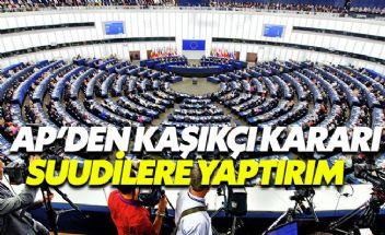 Avrupa Parlamentosu Kaşıkçı olayıyla ilgili harekete geçti