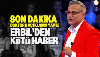 Mehmet Ali Erbil'den Son Dakika Haberi Geldi...