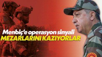 Cumhurbaşkanı Erdoğan'dan Menbiç'e harekat sinyali