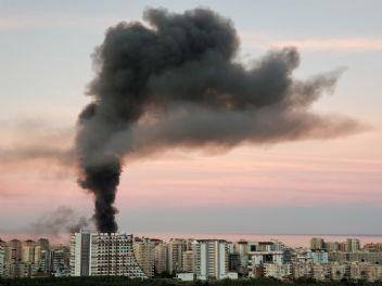 Alanya'da korkutan otel yangını