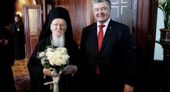 Devlet gibi davranan Fener Patriği, Ukrayna ile resmi anlaşma imzaladı
